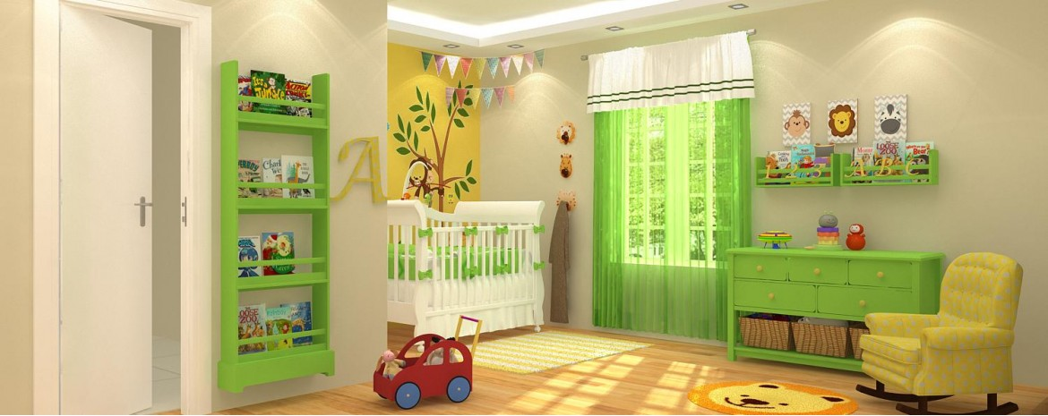Jungle Nursery Room