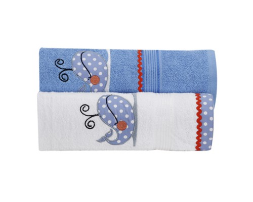 TOWEL SET : DOLPHIN