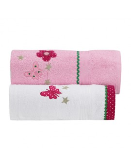 TOWEL SET FLOWER