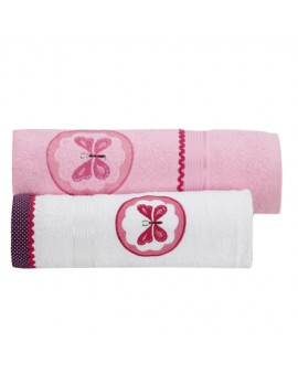 TOWEL SET : BUTTERFLY