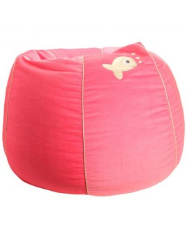 BEAN BAG FISH PINK