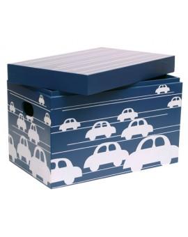 CLOSED BOX CARS BLUE
