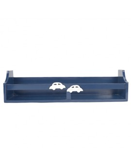 SINGLE SHELF CAR BLUE
