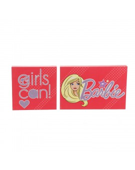 BARBIE WALL ART:GIRLS CAN