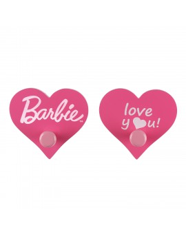 BARBIE WALL HOOK SET :MISTY ROSE