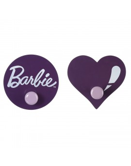 BARBIE WALL HOOK SET : ORCHID