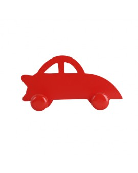 WALL HOOK CAR RED