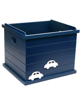 OPEN BOX CAR BLUE