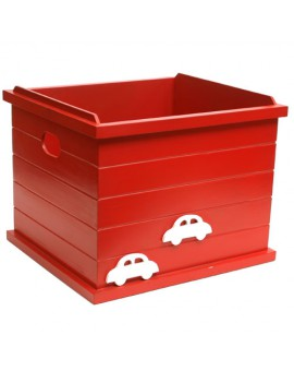 OPEN BOX CAR RED