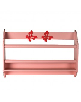 CURVED BOOKSHELF :LIGHT PINK