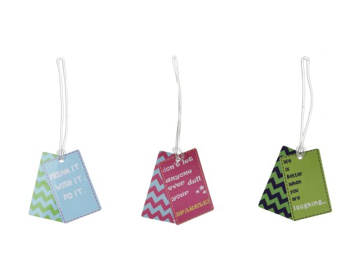 BAG TAG SET QUOTES