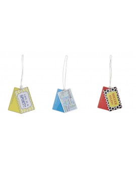 BAG TAG SET SOCCER