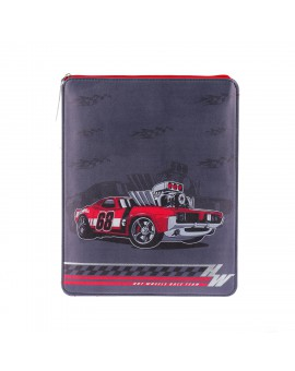 HOTWHEELS I-PAD SLEEVES :SPEED RED