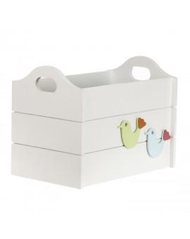 OPEN STORAGE BOX - CHIRPY BIRDIE