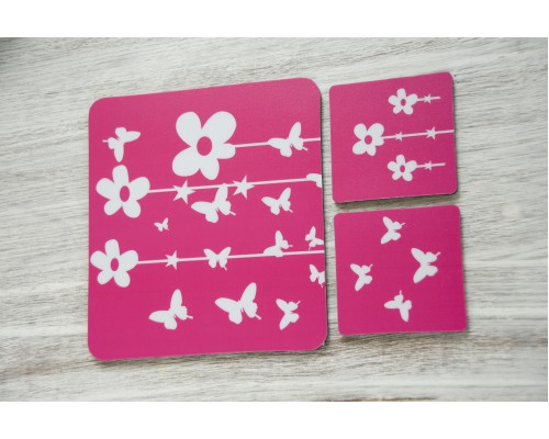 MOUSE PADS FLOWERS